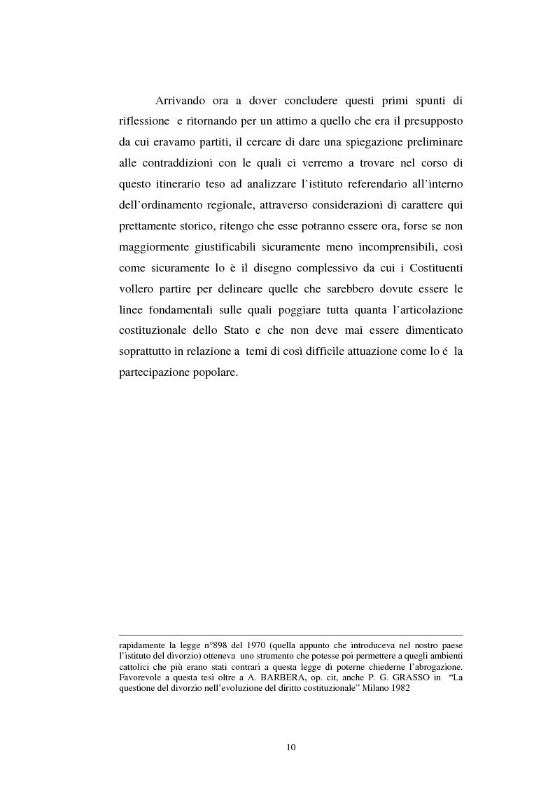 Anteprima della tesi: Il referendum nell'ordinamento regionale, Pagina 8