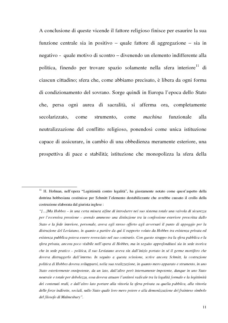 Anteprima della tesi: Schmitt e Kelsen: un problema della letteratura filosofico giuridica, Pagina 10