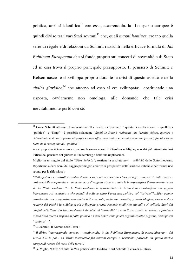 Anteprima della tesi: Schmitt e Kelsen: un problema della letteratura filosofico giuridica, Pagina 11