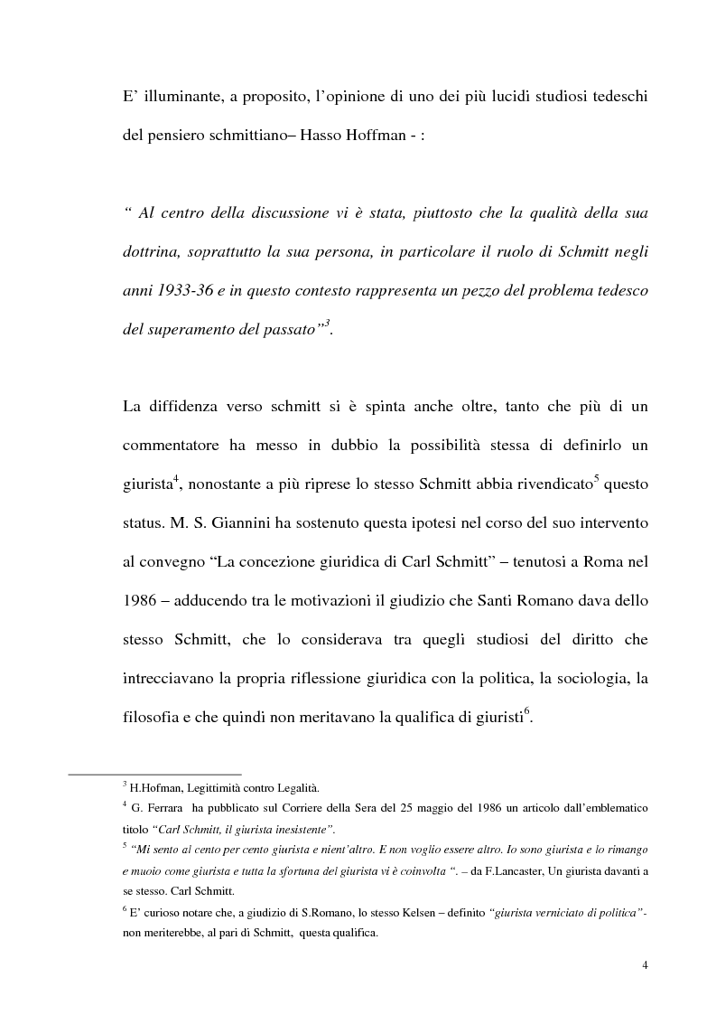 Anteprima della tesi: Schmitt e Kelsen: un problema della letteratura filosofico giuridica, Pagina 3