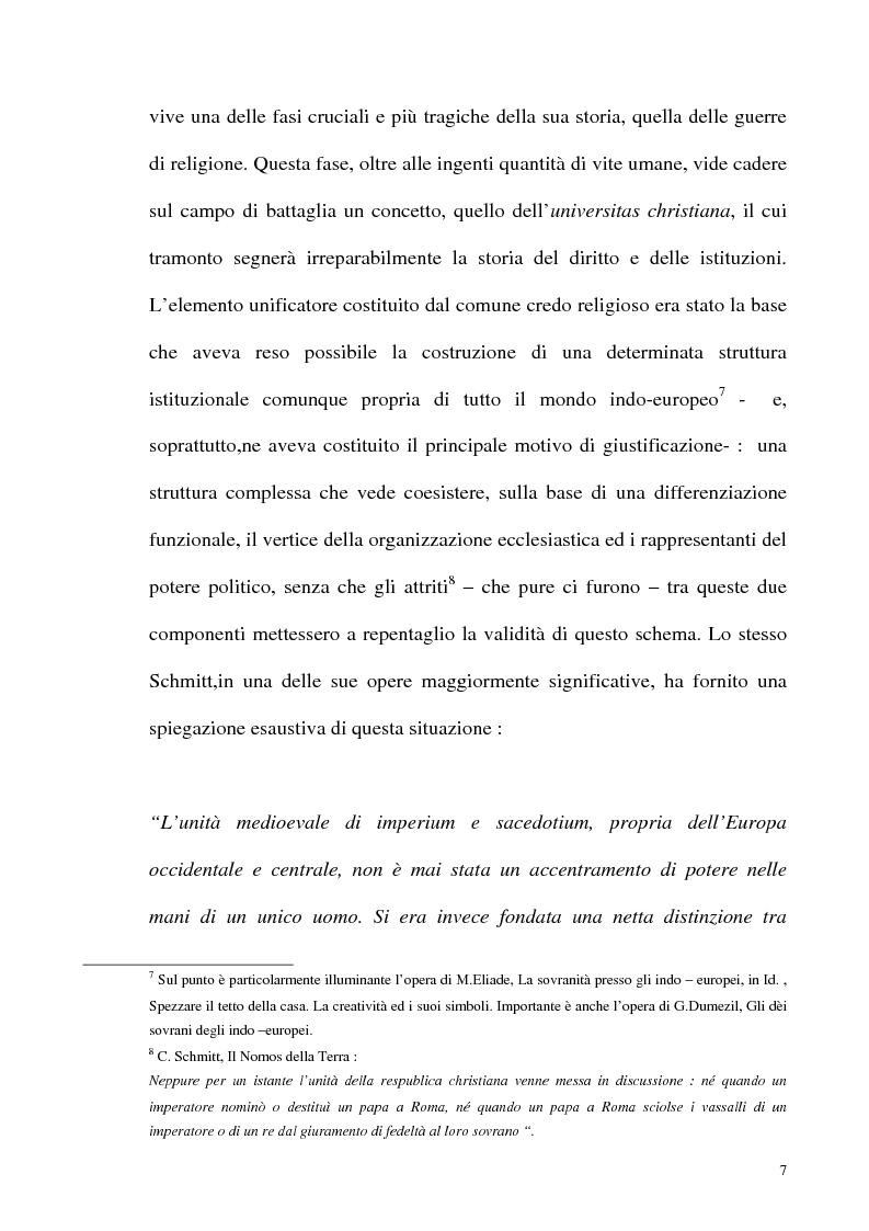 Anteprima della tesi: Schmitt e Kelsen: un problema della letteratura filosofico giuridica, Pagina 6