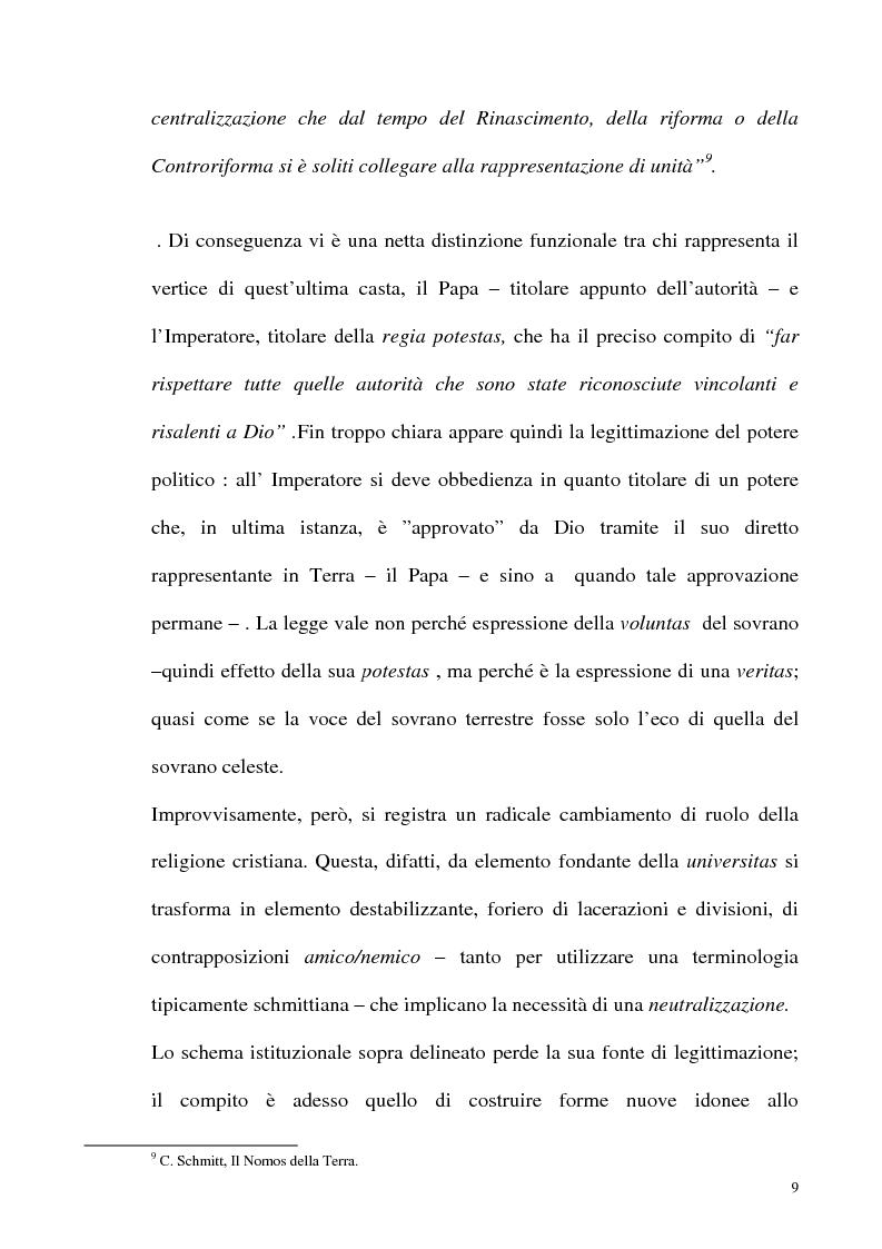 Anteprima della tesi: Schmitt e Kelsen: un problema della letteratura filosofico giuridica, Pagina 8
