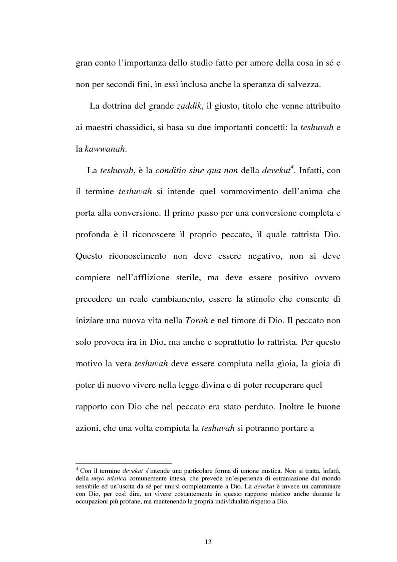 Anteprima della tesi: Prospettive sul chassidismo: le interpretazioni di Martin Buber e di Gershom Scholem, Pagina 11