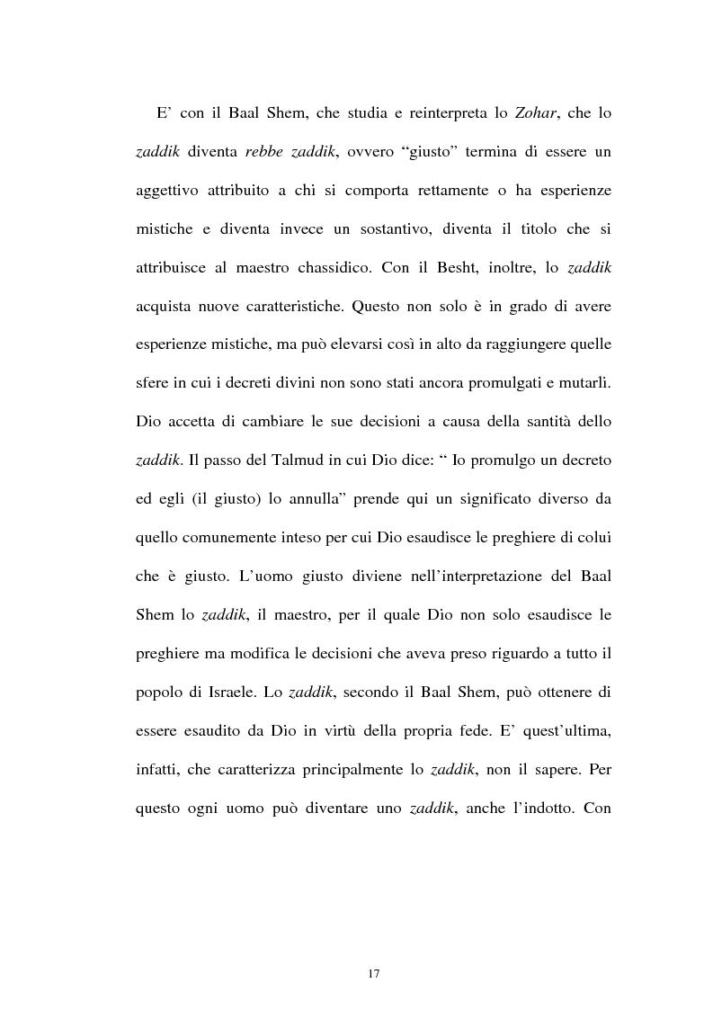 Anteprima della tesi: Prospettive sul chassidismo: le interpretazioni di Martin Buber e di Gershom Scholem, Pagina 15