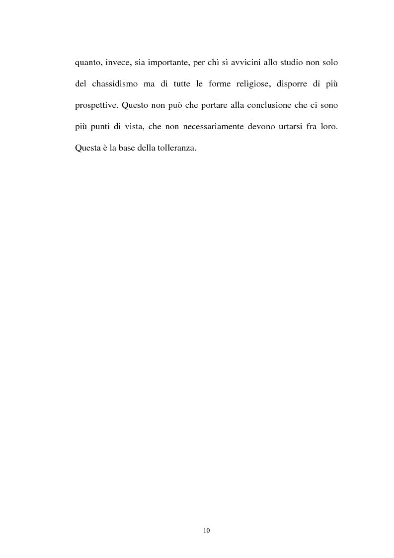 Anteprima della tesi: Prospettive sul chassidismo: le interpretazioni di Martin Buber e di Gershom Scholem, Pagina 8