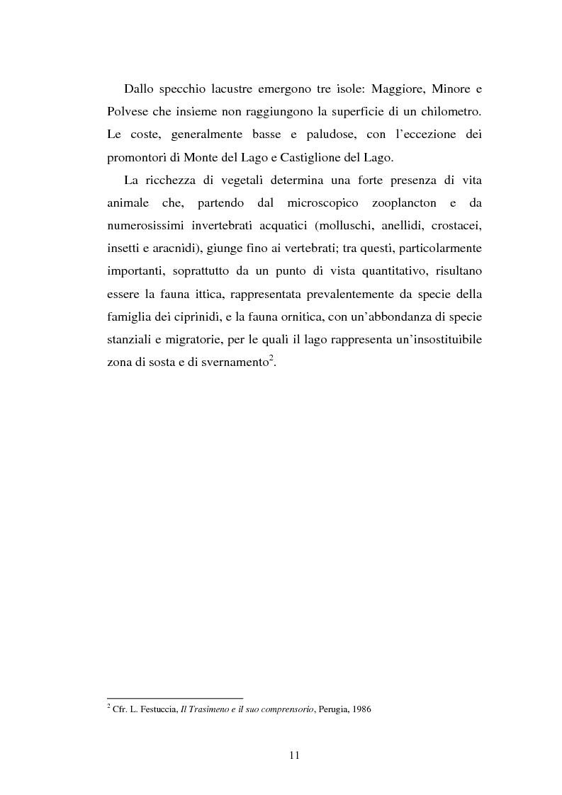 Anteprima della tesi: Progetto di web tv: controllo, sviluppo e promozione di un'area da proteggere, Pagina 8