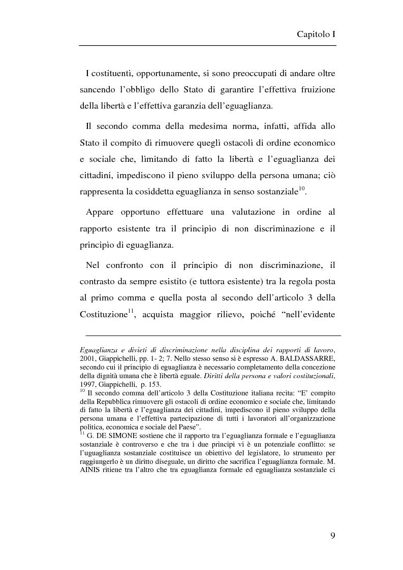 Anteprima della tesi: Il principio di non discriminazione nel diritto tributario secondo la giurisprudenza della Corte di giustizia C.E.E., Pagina 12