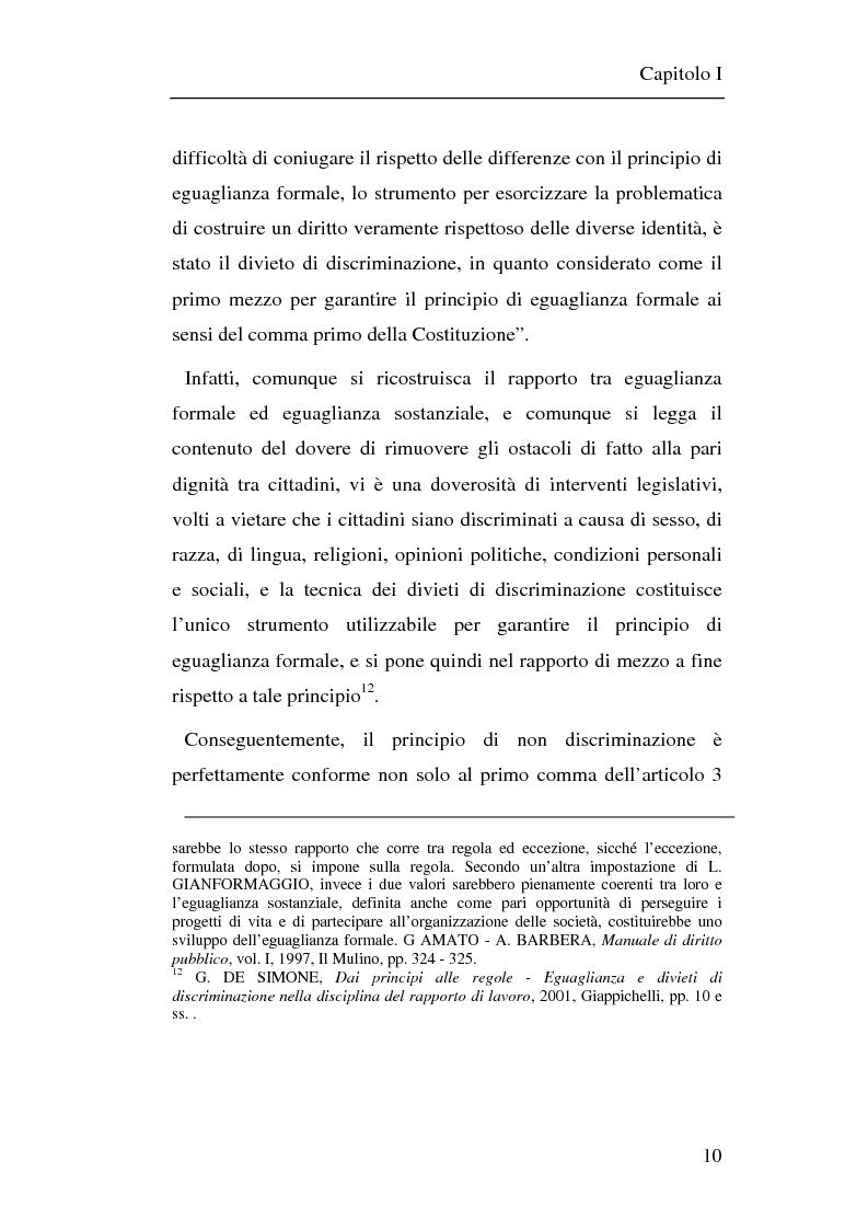 Anteprima della tesi: Il principio di non discriminazione nel diritto tributario secondo la giurisprudenza della Corte di giustizia C.E.E., Pagina 13
