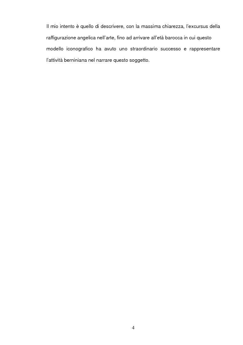 Anteprima della tesi: Angeli e Arcangeli di Gian Lorenzo Bernini, Pagina 3