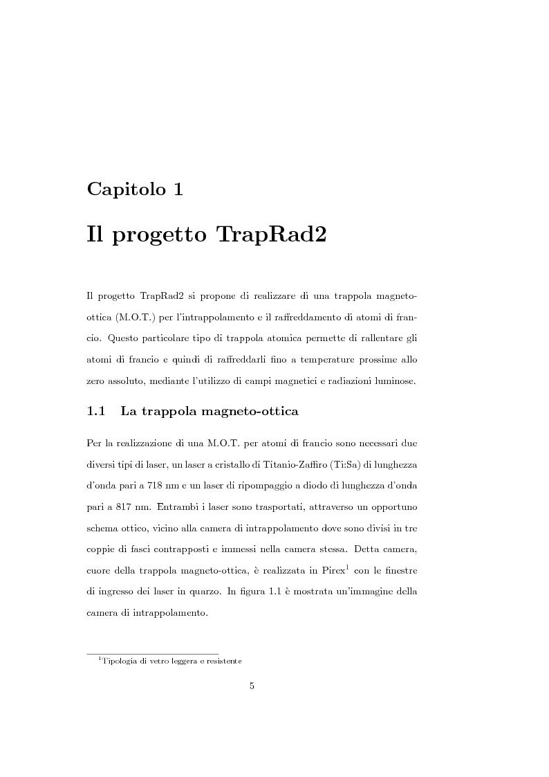 Anteprima della tesi: Sviluppo del software di acquisizione dati e controllo di un sistema di stabilizzazione in frequenza di laser in ambiente LabView, Pagina 3