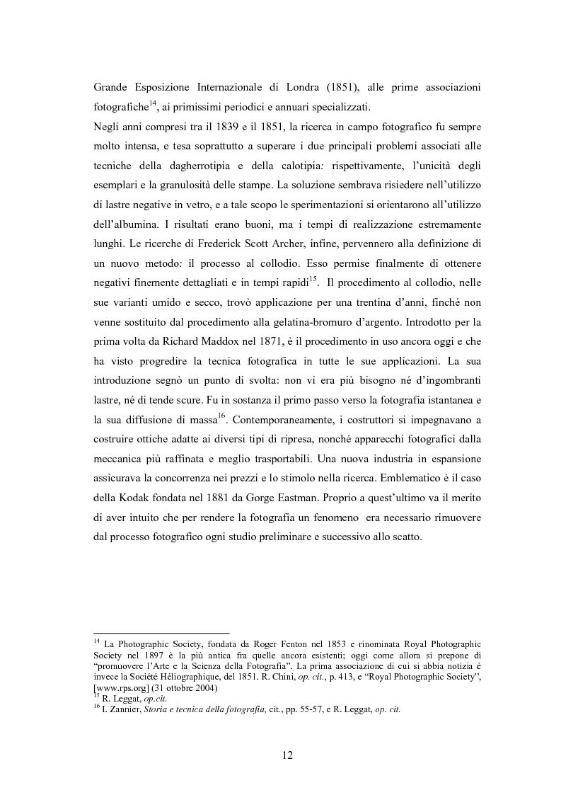 Anteprima della tesi: La foto come notizia - Storia, successo, crisi e limiti del fotogiornalismo, Pagina 8