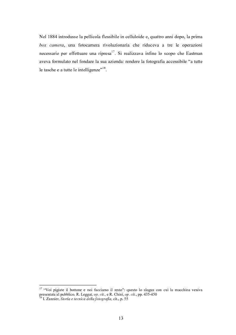 Anteprima della tesi: La foto come notizia - Storia, successo, crisi e limiti del fotogiornalismo, Pagina 9