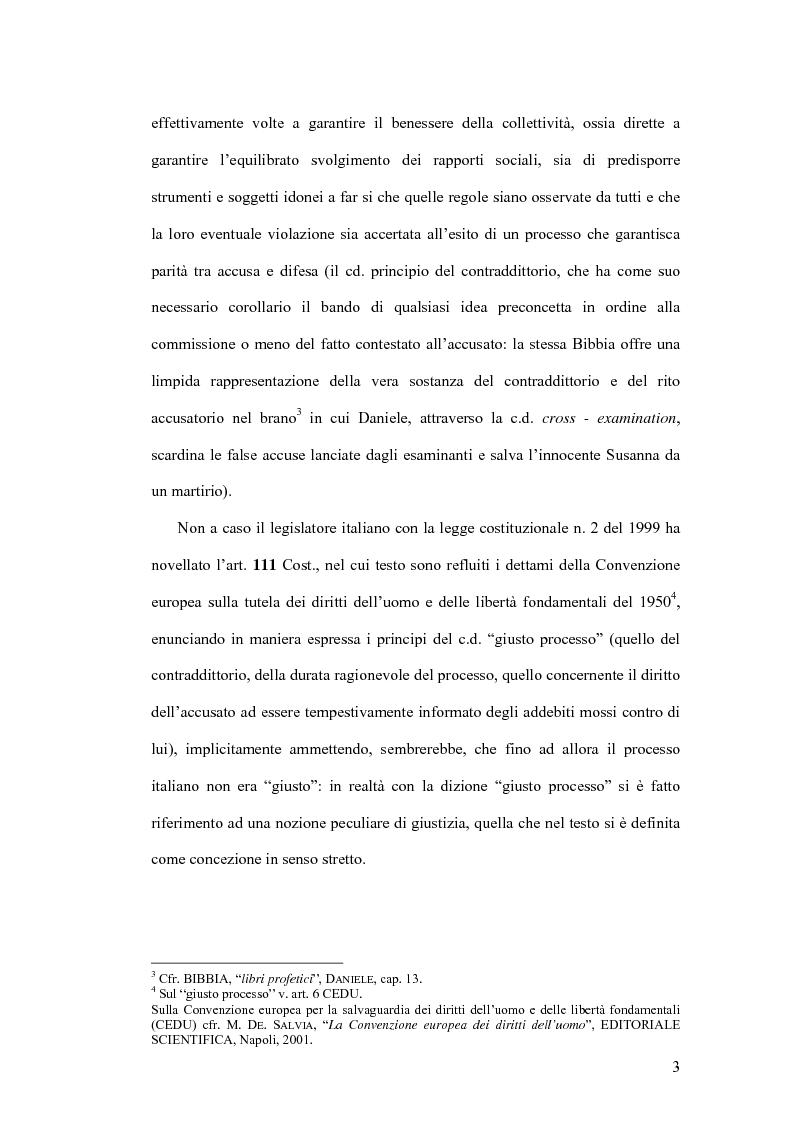 Anteprima della tesi: Natura giuridica della ritrattazione e suo ambito di operatività, Pagina 3