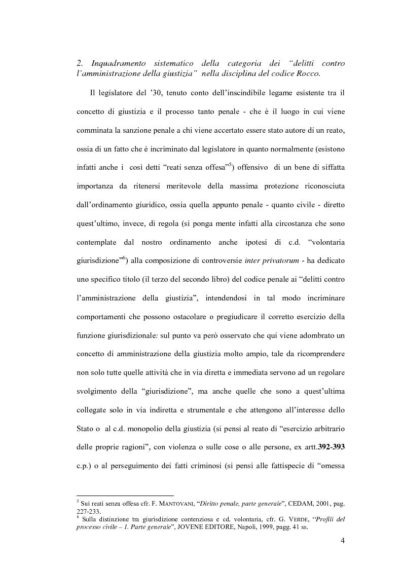 Anteprima della tesi: Natura giuridica della ritrattazione e suo ambito di operatività, Pagina 4