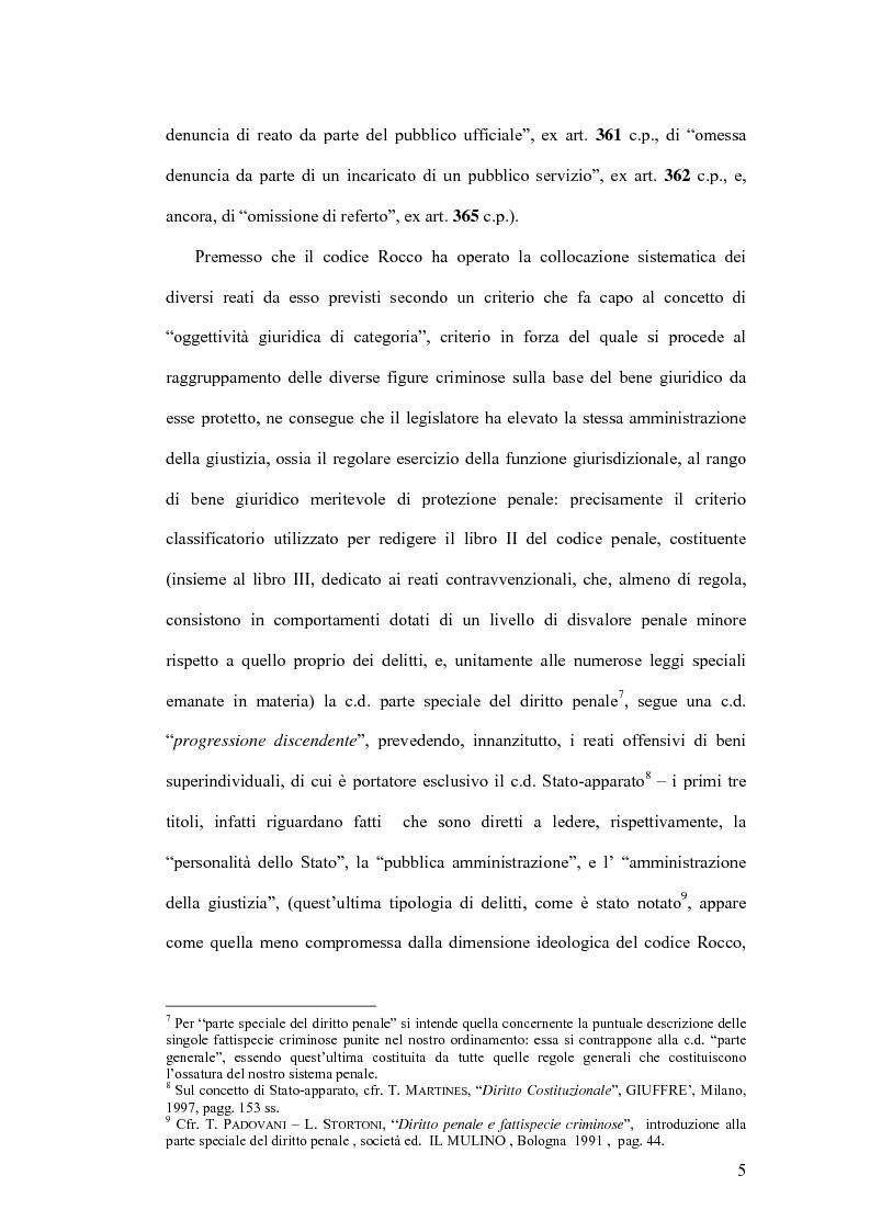 Anteprima della tesi: Natura giuridica della ritrattazione e suo ambito di operatività, Pagina 5