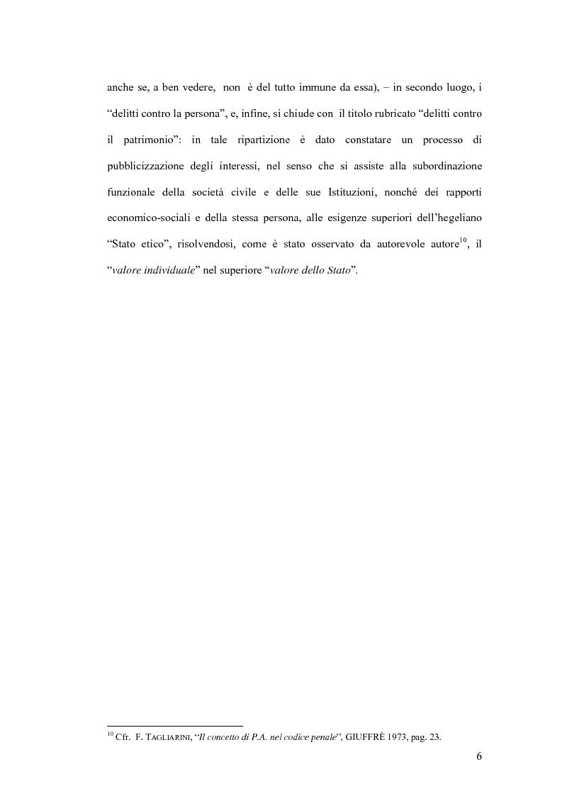 Anteprima della tesi: Natura giuridica della ritrattazione e suo ambito di operatività, Pagina 6