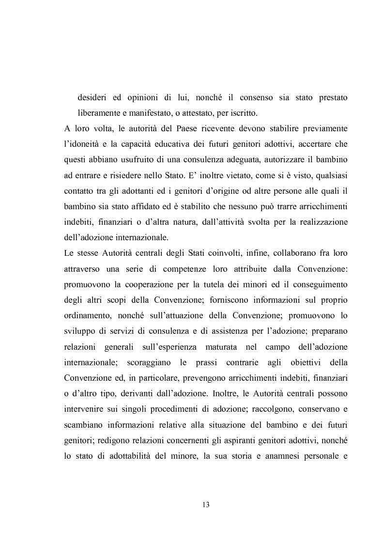 Anteprima della tesi: L'adozione internazionale, Pagina 13