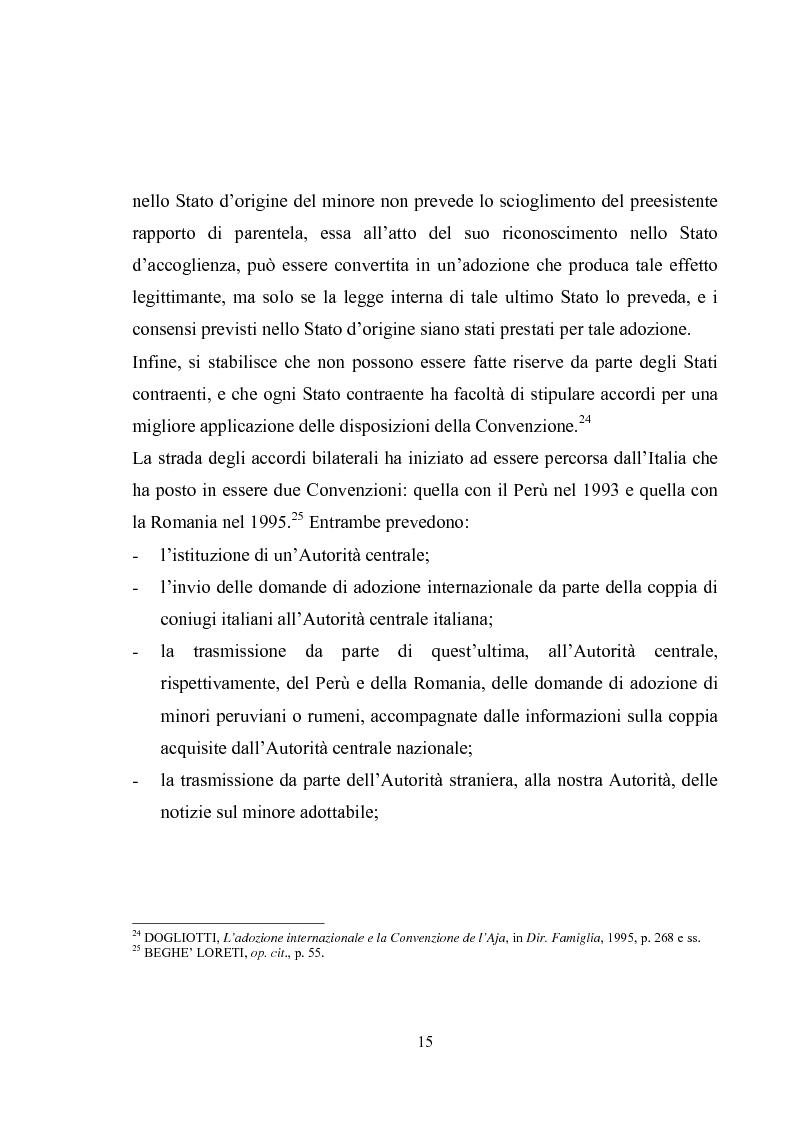 Anteprima della tesi: L'adozione internazionale, Pagina 15