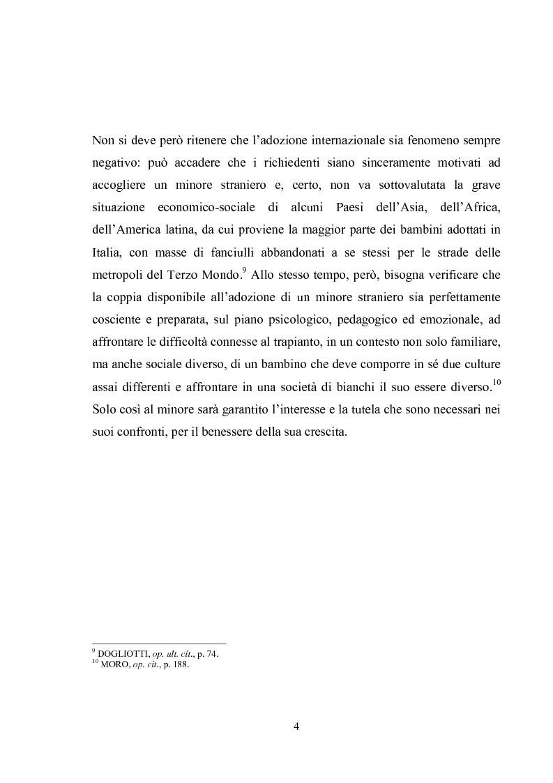Anteprima della tesi: L'adozione internazionale, Pagina 4