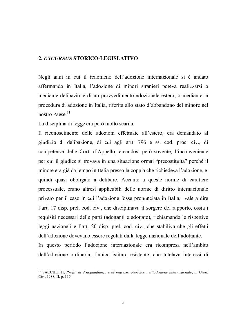 Anteprima della tesi: L'adozione internazionale, Pagina 5