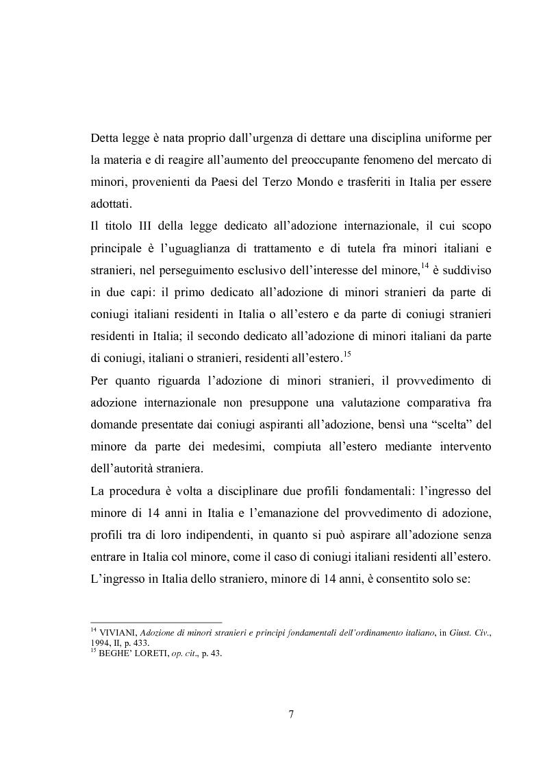 Anteprima della tesi: L'adozione internazionale, Pagina 7