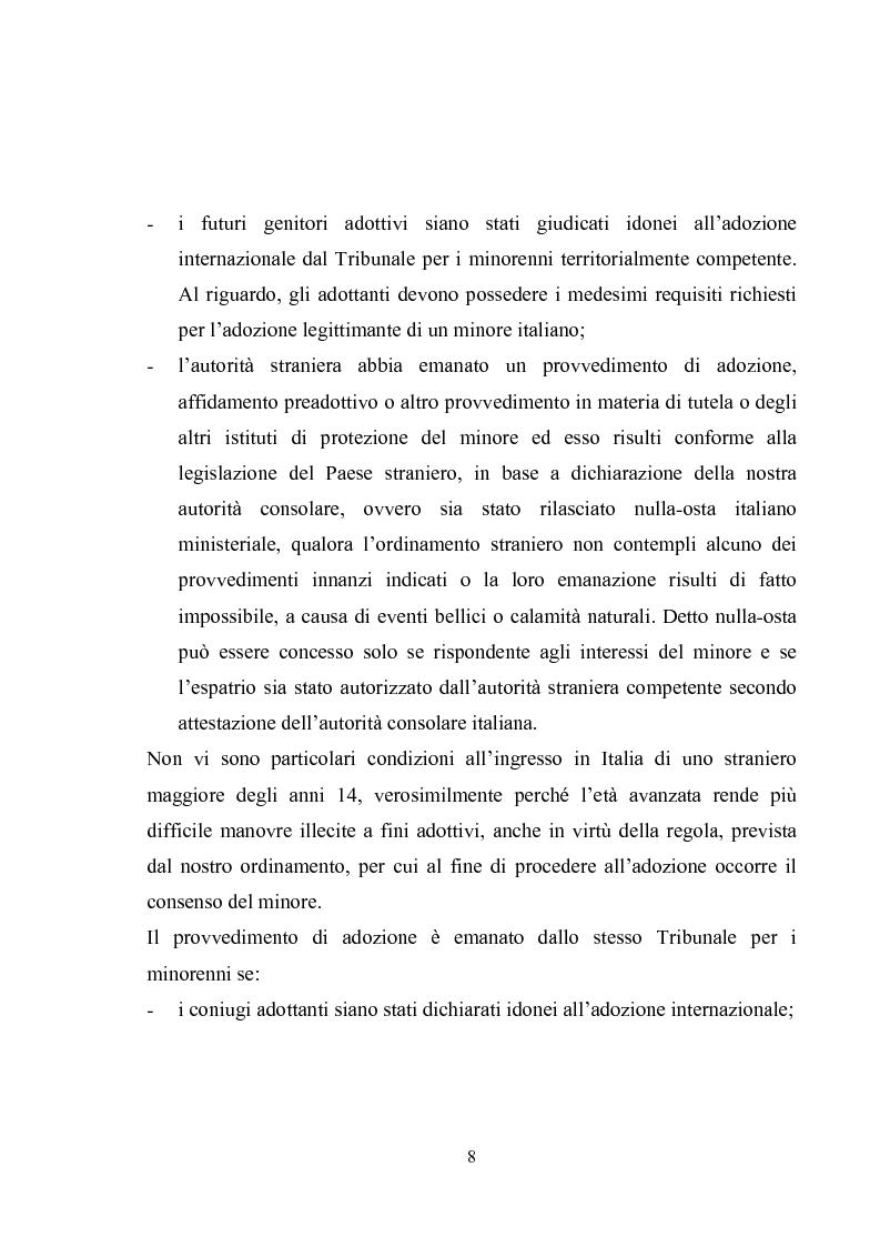 Anteprima della tesi: L'adozione internazionale, Pagina 8