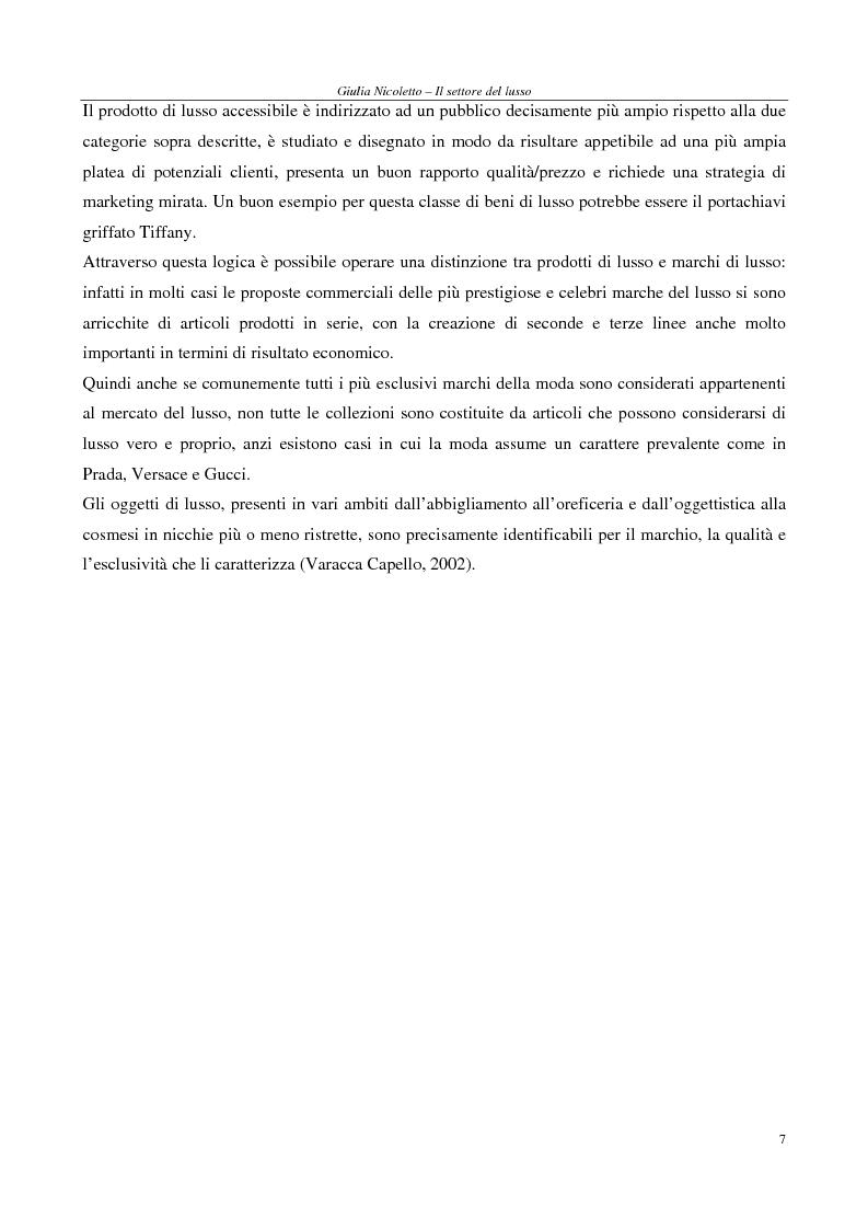 Anteprima della tesi: Crescere e creare valore nel settore del lusso: il caso Rossi Moda, Pagina 7