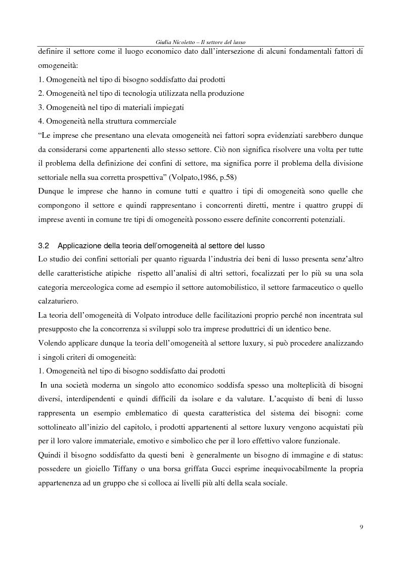 Anteprima della tesi: Crescere e creare valore nel settore del lusso: il caso Rossi Moda, Pagina 9