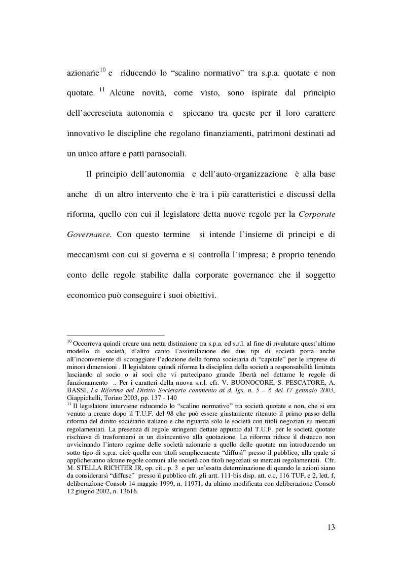 Anteprima della tesi: Il trattamento contabile dell'avviamento e delle immobilizzazioni immateriali, Pagina 11