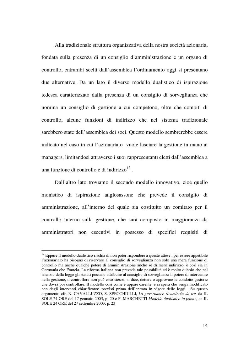 Anteprima della tesi: Il trattamento contabile dell'avviamento e delle immobilizzazioni immateriali, Pagina 12
