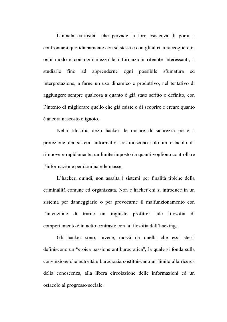 Anteprima della tesi: Le nuove forme di devianza nella società del benessere: il fenomeno dell'hacking, Pagina 9