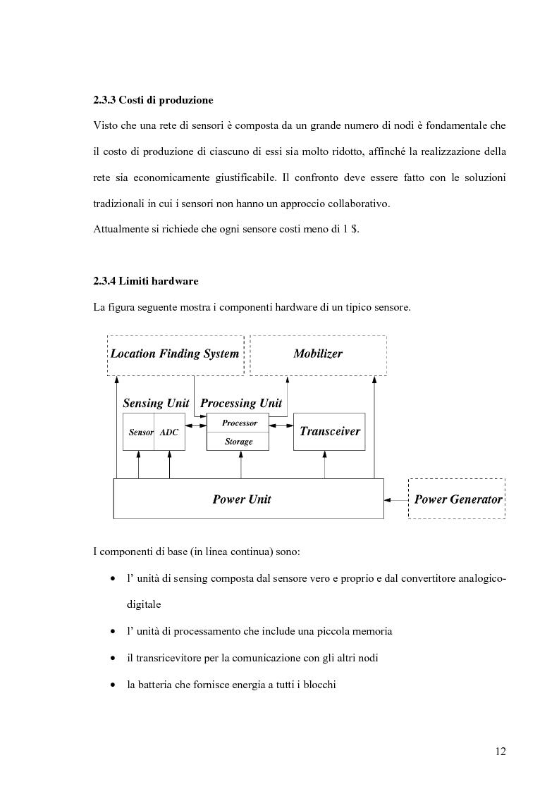 Anteprima della tesi: Un modello markoviano per lo studio dell'evoluzione in transitorio di una rete di sensori, Pagina 12
