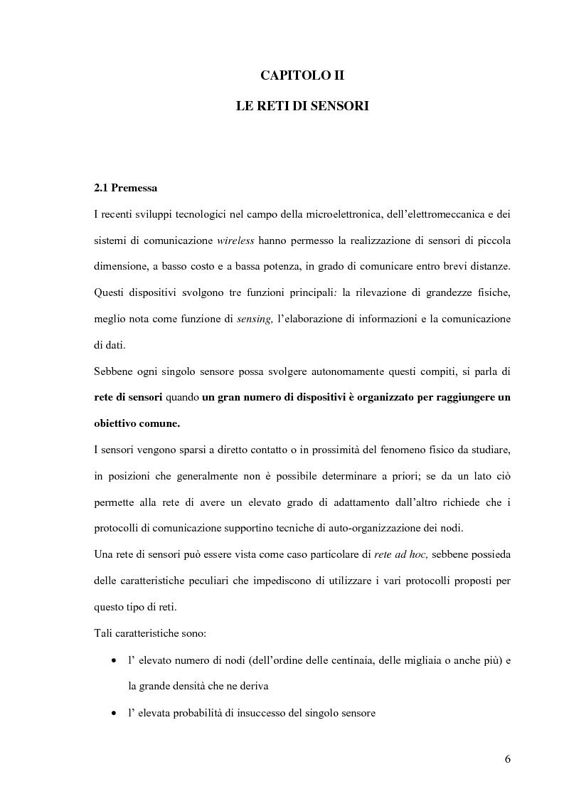 Anteprima della tesi: Un modello markoviano per lo studio dell'evoluzione in transitorio di una rete di sensori, Pagina 6