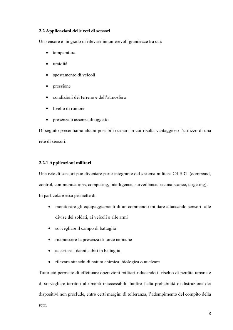Anteprima della tesi: Un modello markoviano per lo studio dell'evoluzione in transitorio di una rete di sensori, Pagina 8