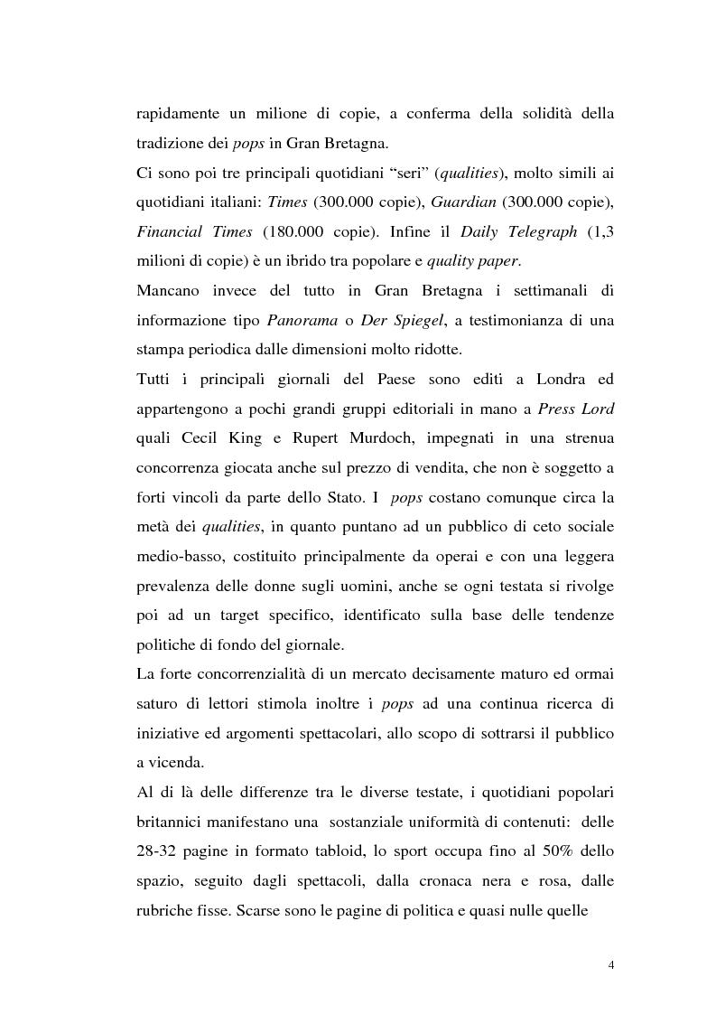"""Anteprima della tesi: L'Occhio, un quotidiano """"popular"""" all'italiana, Pagina 9"""