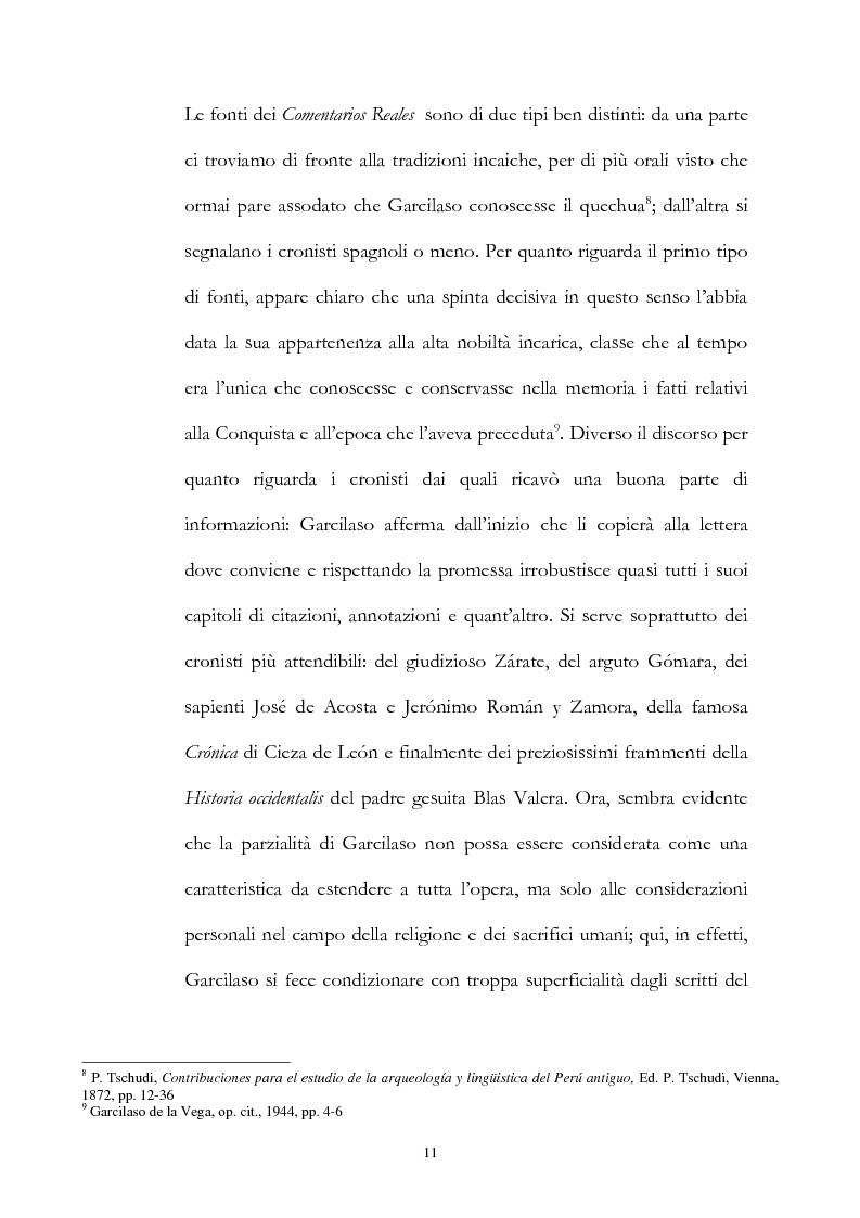 Anteprima della tesi: Nuove fonti storiche del Tahuantinsuyu: il gesuita Blas Valera, Pagina 11