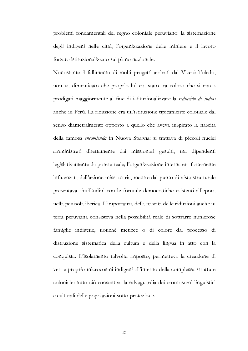 Anteprima della tesi: Nuove fonti storiche del Tahuantinsuyu: il gesuita Blas Valera, Pagina 15