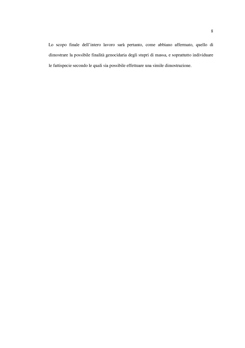 Anteprima della tesi: Stupro e Genocidio nel Diritto Internazionale, Pagina 6