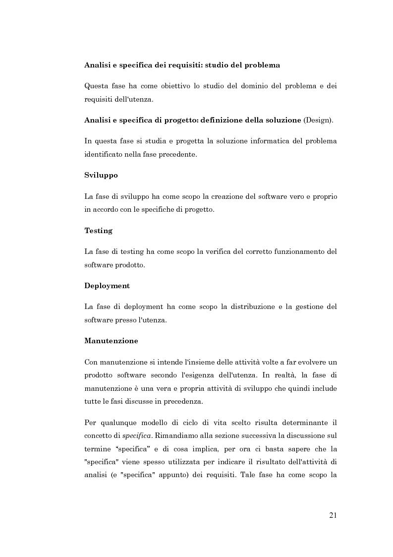 Anteprima della tesi: Metodologie per la progettazione di software orientato agli agenti, Pagina 12