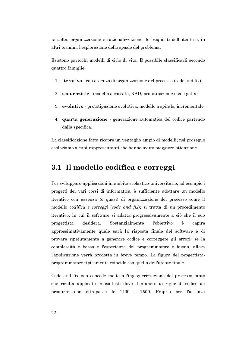 Anteprima della tesi: Metodologie per la progettazione di software orientato agli agenti, Pagina 13
