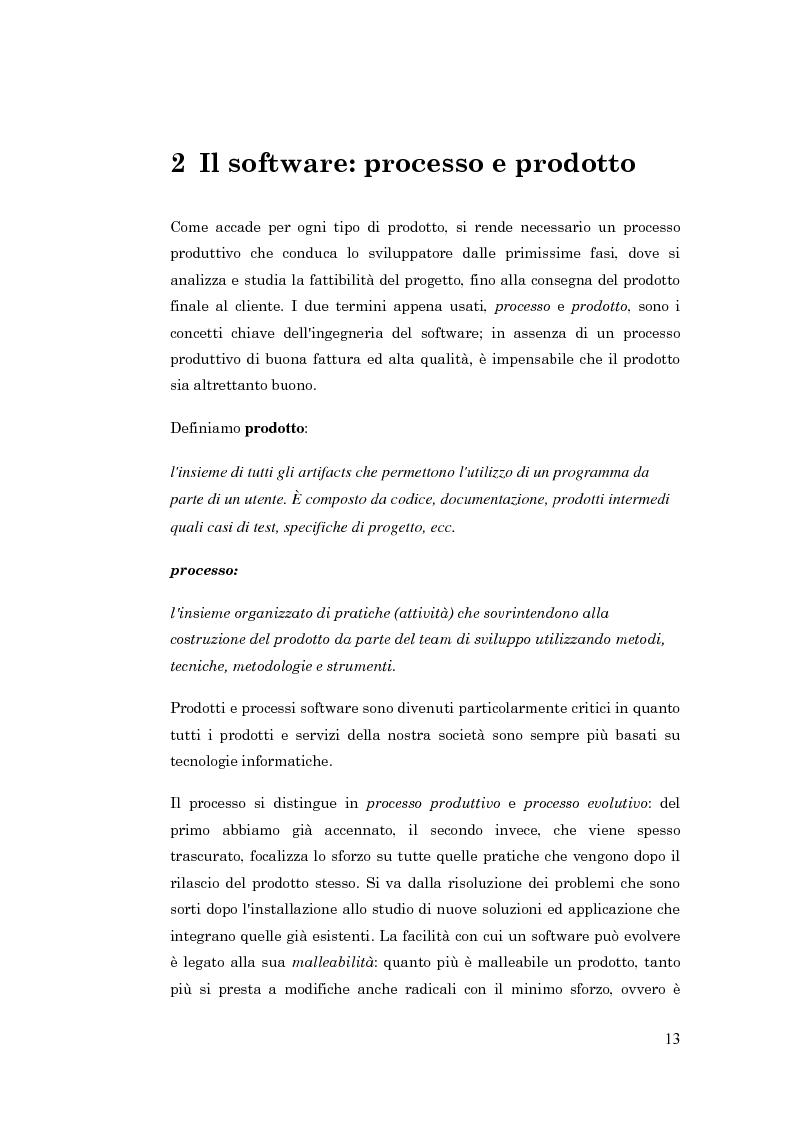 Anteprima della tesi: Metodologie per la progettazione di software orientato agli agenti, Pagina 4