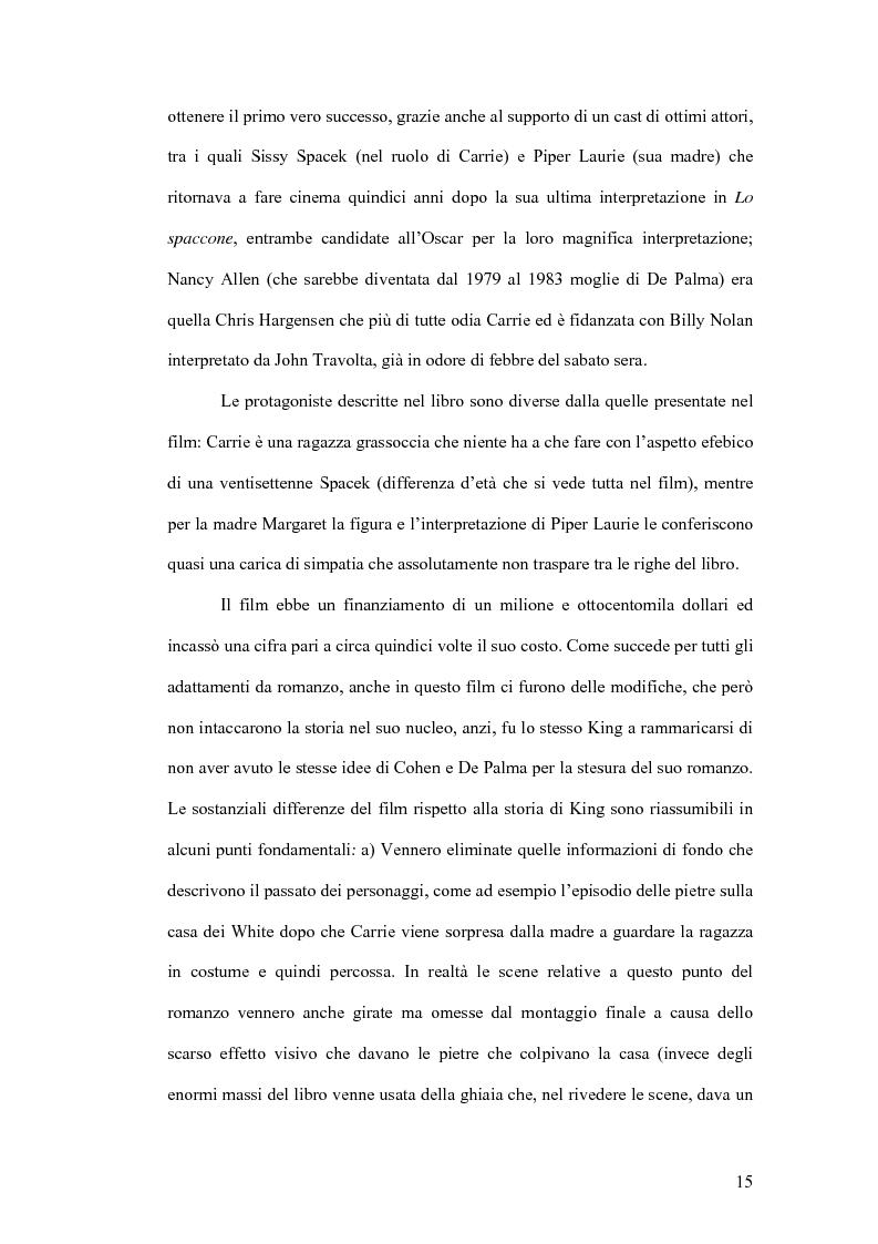 Anteprima della tesi: Stephen King e Clive Barker: due maestri dell'horror tra letteratura e cinema, Pagina 10