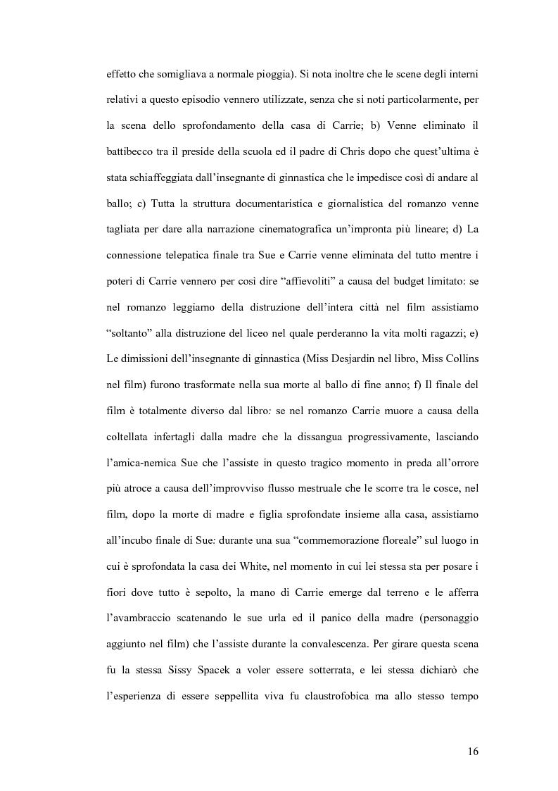 Anteprima della tesi: Stephen King e Clive Barker: due maestri dell'horror tra letteratura e cinema, Pagina 11