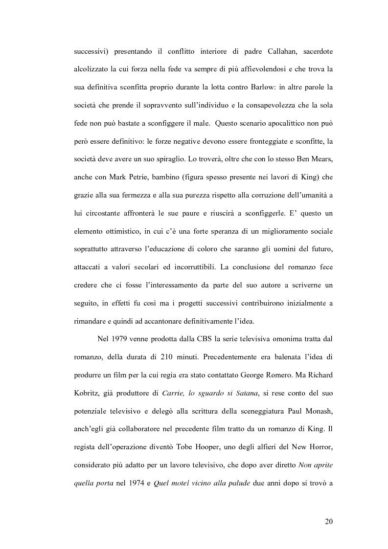 Anteprima della tesi: Stephen King e Clive Barker: due maestri dell'horror tra letteratura e cinema, Pagina 15