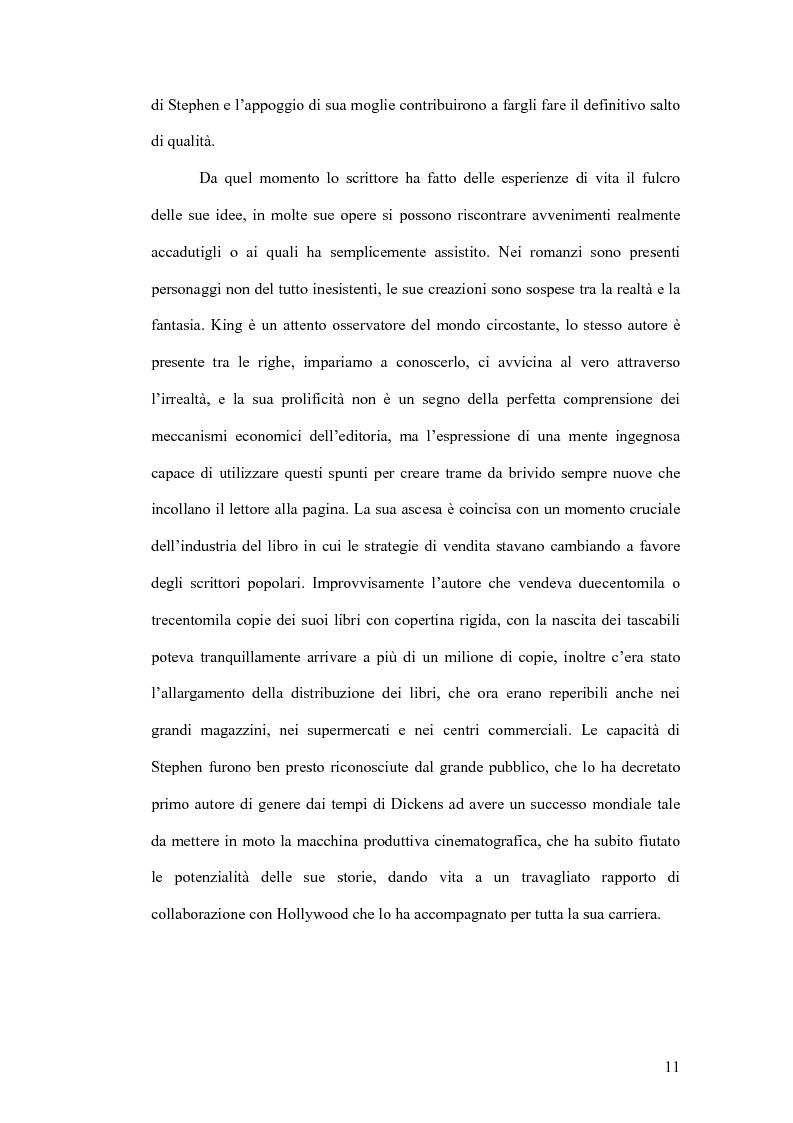 Anteprima della tesi: Stephen King e Clive Barker: due maestri dell'horror tra letteratura e cinema, Pagina 6