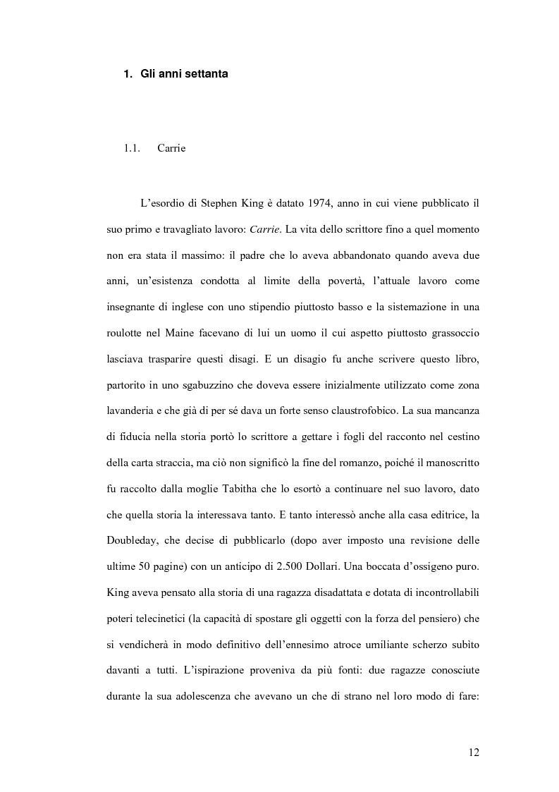 Anteprima della tesi: Stephen King e Clive Barker: due maestri dell'horror tra letteratura e cinema, Pagina 7