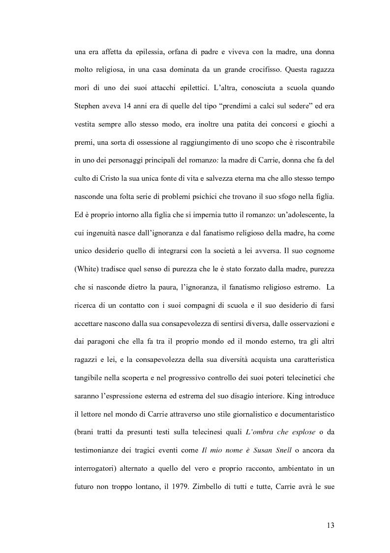 Anteprima della tesi: Stephen King e Clive Barker: due maestri dell'horror tra letteratura e cinema, Pagina 8