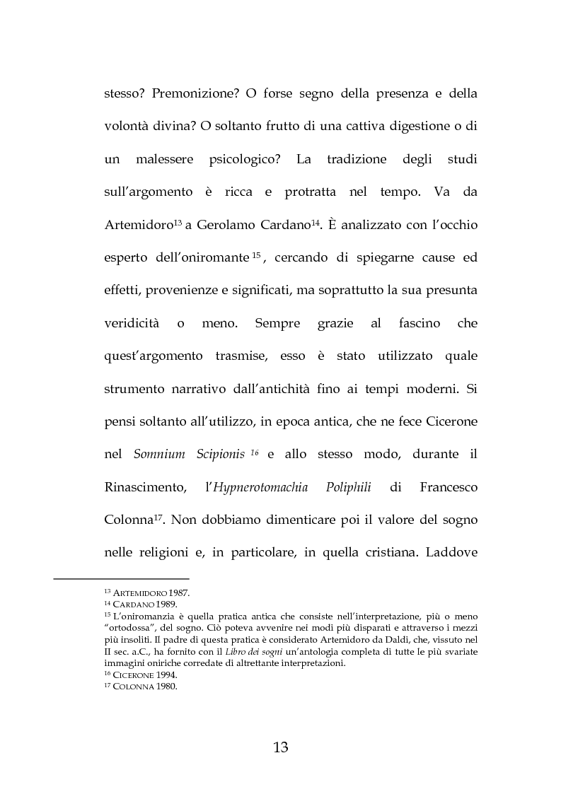 """Anteprima della tesi: La """"Predica de i sogni"""" di Daniele Barbaro. Edizione e commento, Pagina 10"""
