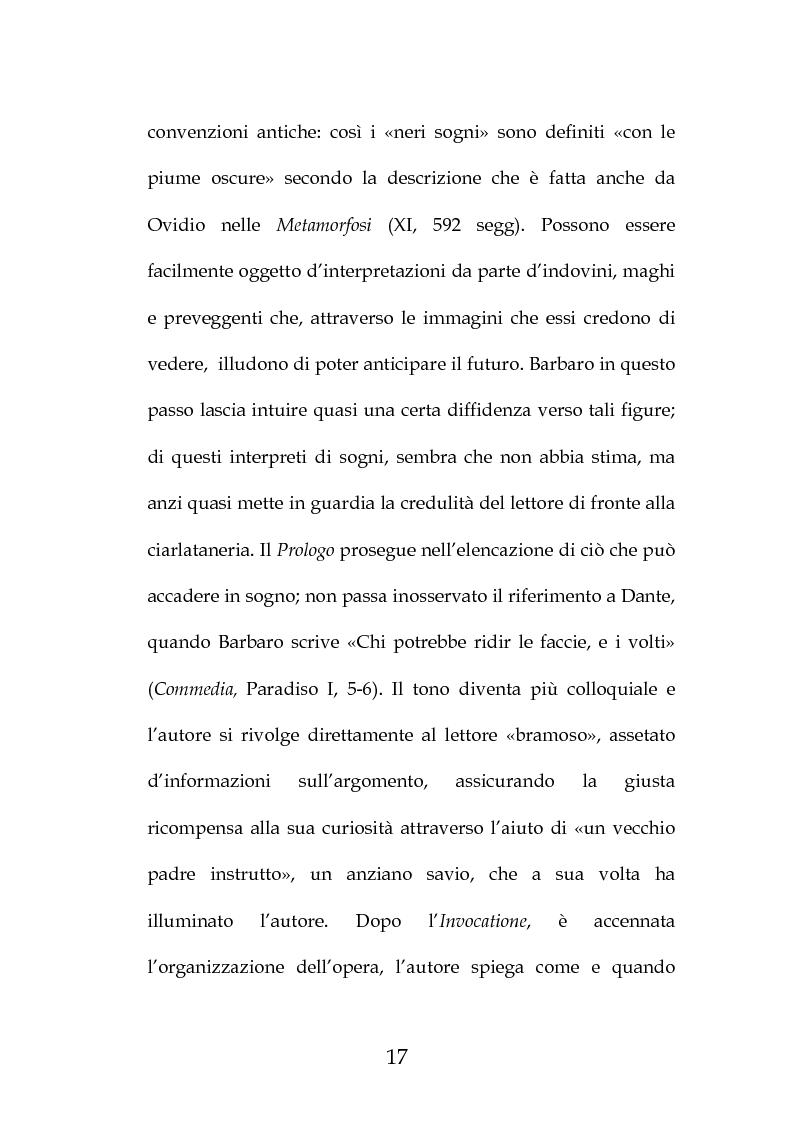 """Anteprima della tesi: La """"Predica de i sogni"""" di Daniele Barbaro. Edizione e commento, Pagina 14"""
