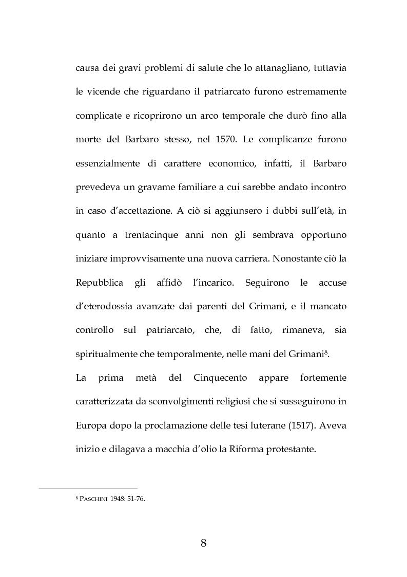 """Anteprima della tesi: La """"Predica de i sogni"""" di Daniele Barbaro. Edizione e commento, Pagina 5"""